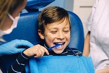 طب اسنان الاطفال